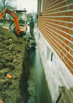 Outside Foundation Crack Repair in Chicago Suburbs